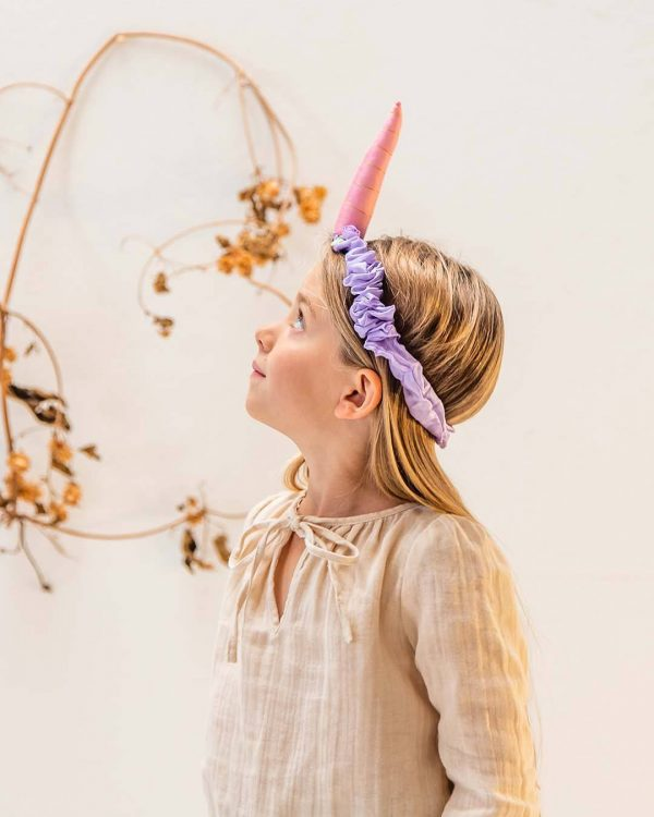 Sarah's Silk Unicorn Headband