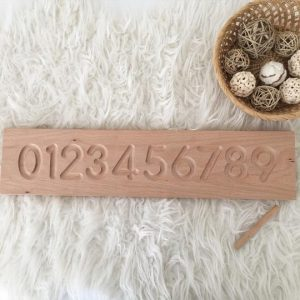 Little Coach House Wooden Number Board
