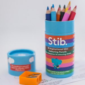 stib colouring pencils