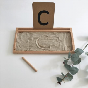 little coach house sand writing tray