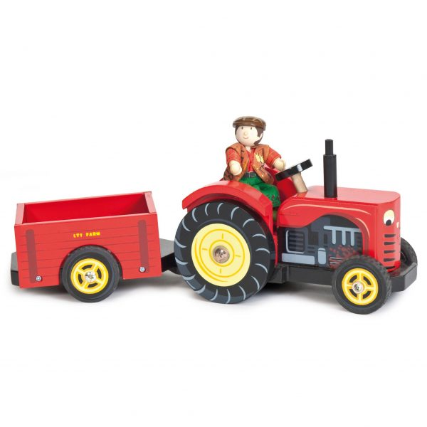 Le Toy Van Bertie Red Tractor