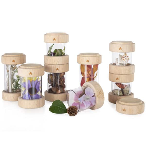 Guidecraft treasure tubes clear