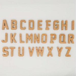 Real Wood Letters