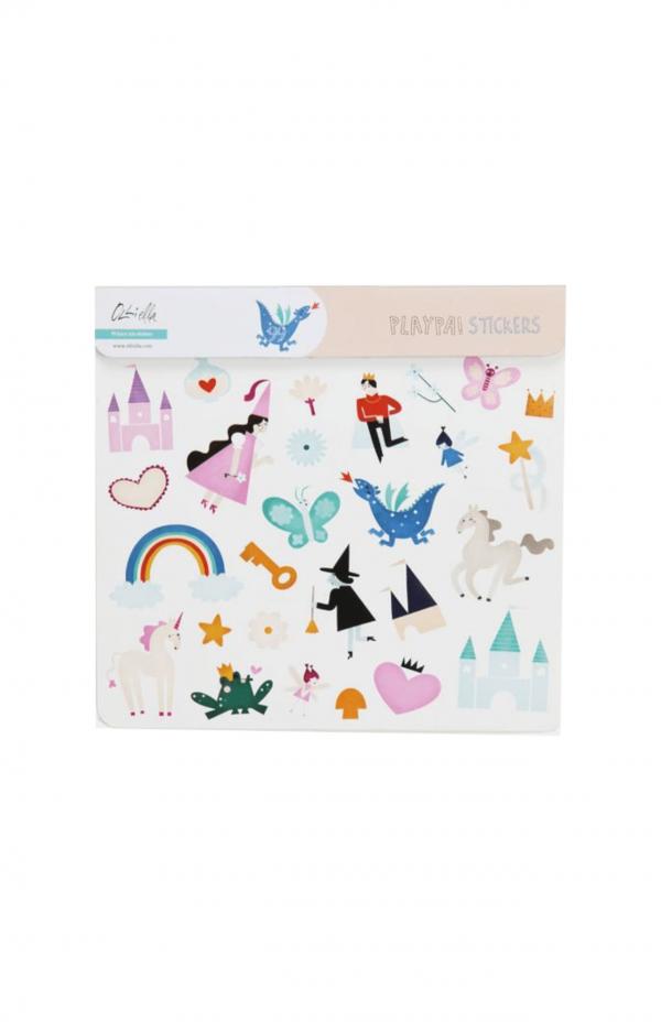 Olliella Playpa stickers fairy tale
