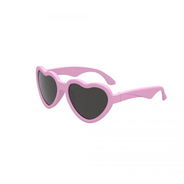 Babiators heart shaped pink