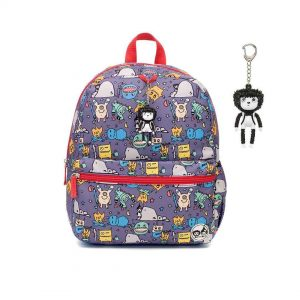 Babymel zip and zoe backpack monster