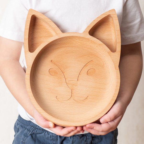 The Wood life project eco friendly children's plate