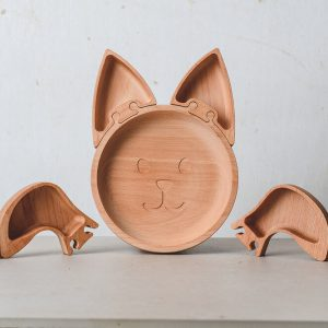 Eco Friendly Children's Plate The Wood Life Project