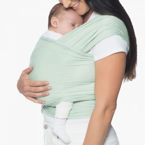 SKIP TO THE BEGINNING OF THE IMAGES GALLERY Ergobaby Aura Baby Wrap Sage