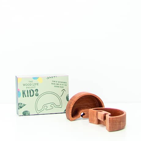 eco friendly childrens plate the wood life project