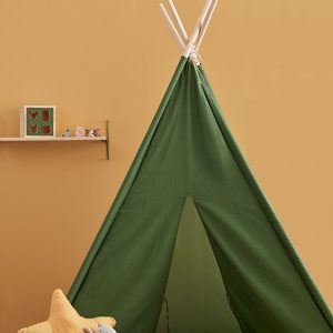 kids concept tipi tent green