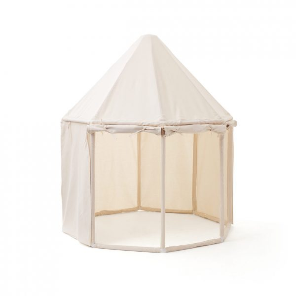 Kids Concept Play House Tent in Off White