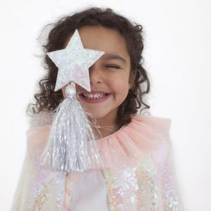 Meri Meri Iridescent Sequin Cape