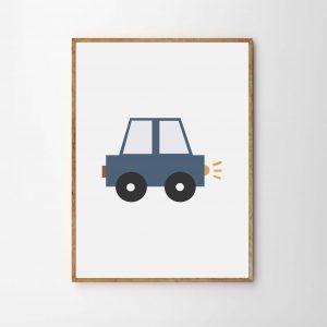 children's transport print