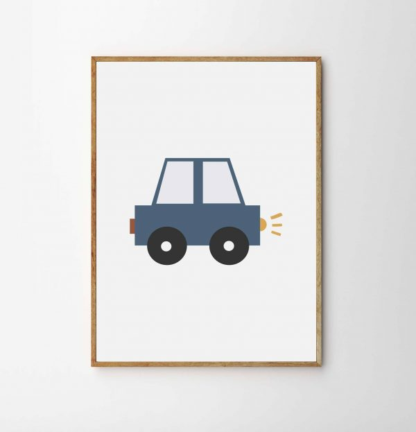 children's transport print