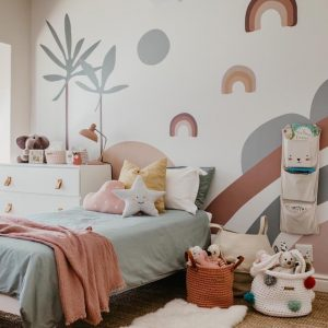 children's wall mural