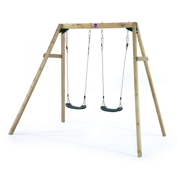 Plum Play Wooden Swing Set (Double)