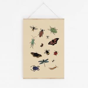 bug wall art