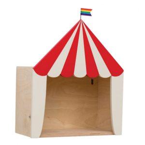 circus shelf