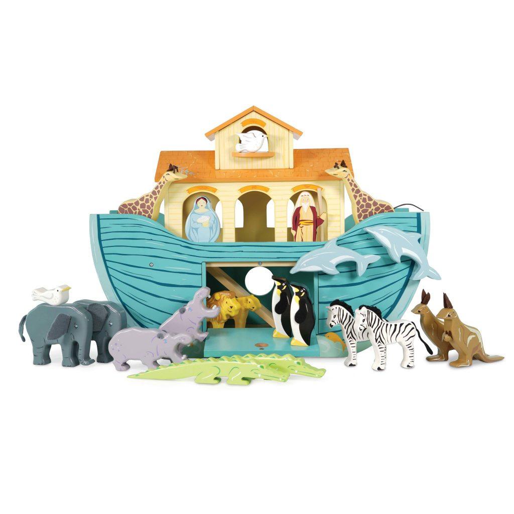 wooden noah's ark