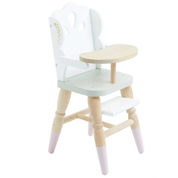 dolls wooden highchair