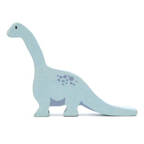 wooden dinosaur