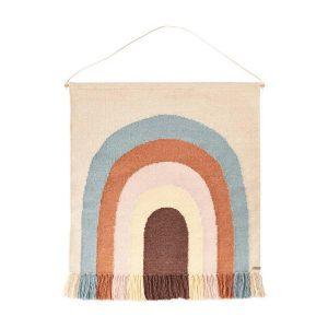 Oyoy rainbow wall rug