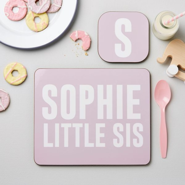 personalised placemat