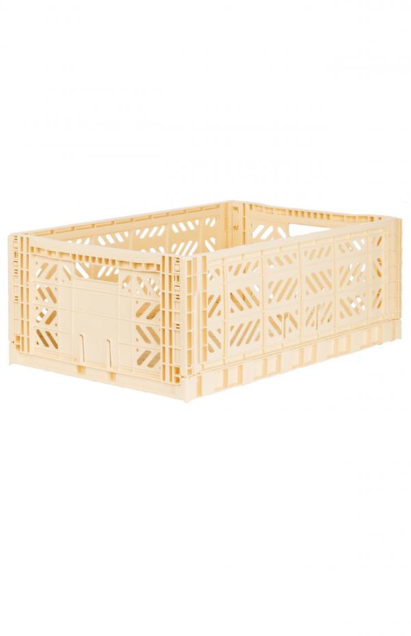 Folding crates