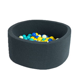 Misioo Modern Ball Pit - Graphite