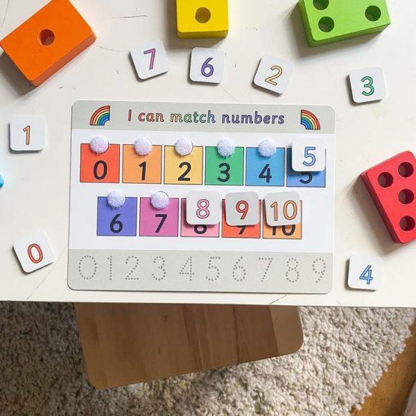 Numbers mat