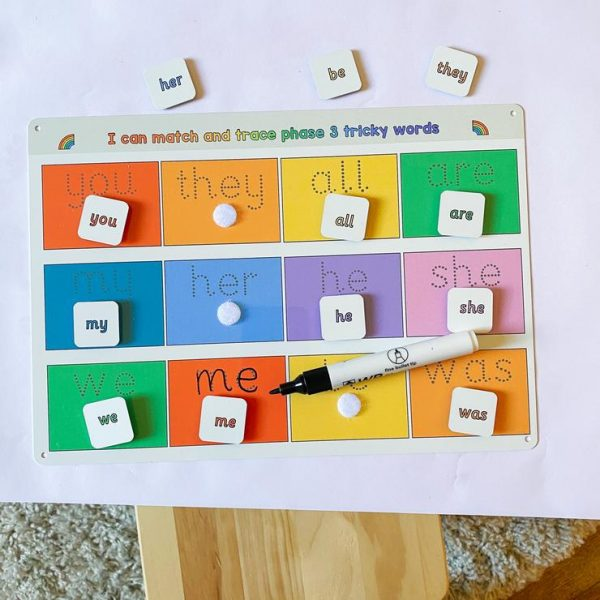 Phase 3 tricky words