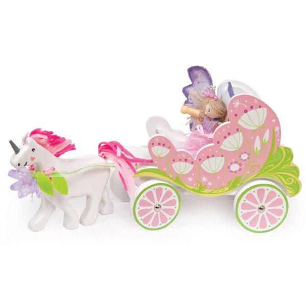 Le toy van fairy unicorn carriage