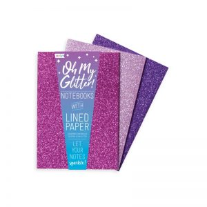 Oh My Glitter Notebooks - Pink
