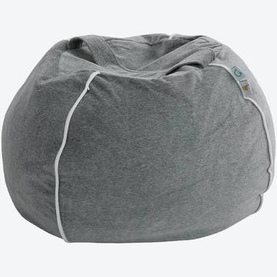 Wigiwama Bubble Beanbag - Grey Velvet