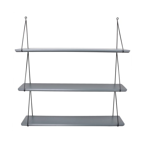 Rose In April Babou Triple Shelf - Cement Grey