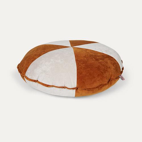Wigiwama Cookie Beanbag - Cinnamon And Beige