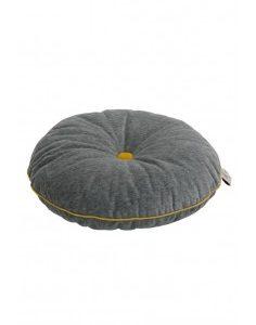 Wigiwama Button Cushion - Grey