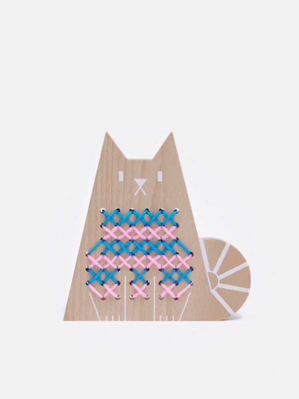 Moon Picnic Cross Stitch Friends - Cat