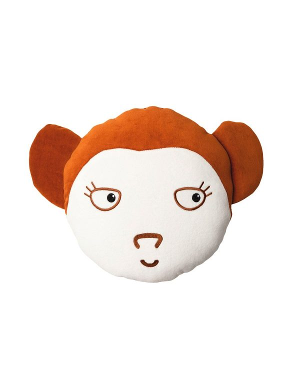 Wigiwama Monkey Cushion