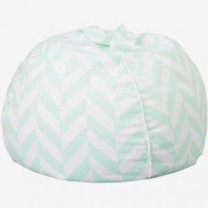 Wigiwama Bubble Beanbag - Mint Herringbone