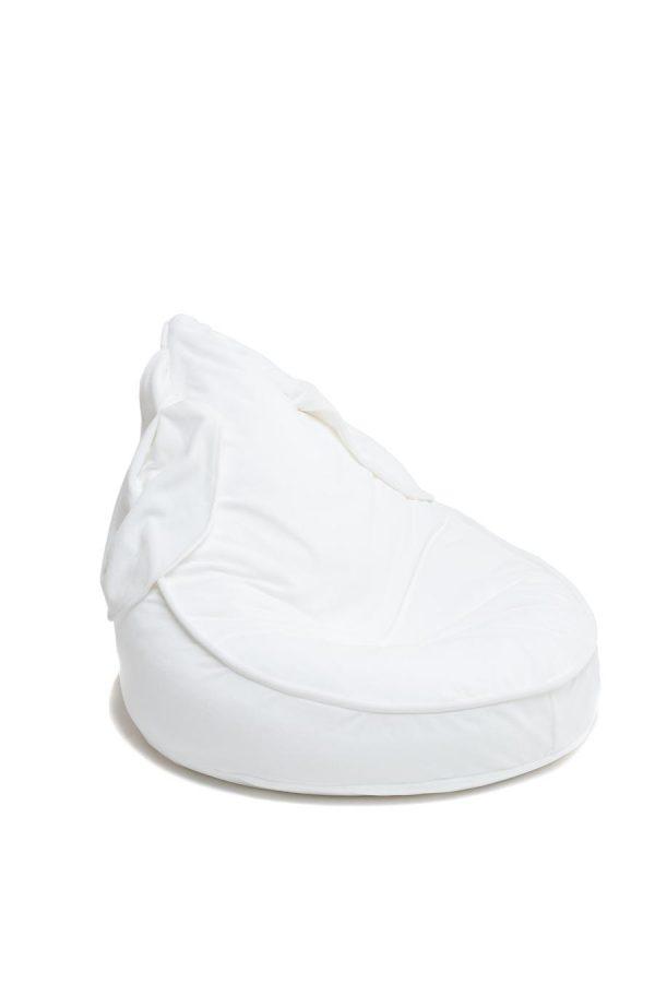 Wigiwama Bunny Beanbag - Velvet White