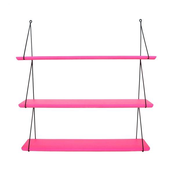 Rose In April Babou Triple Shelf - Neon Pink
