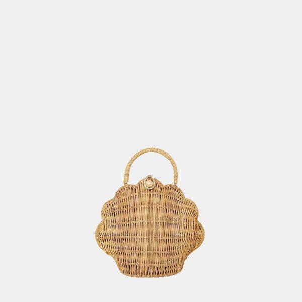 Olli Ella rattan straw bag