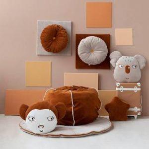 Wigiwama Bubble Beanbag - Cinnamon Velvet