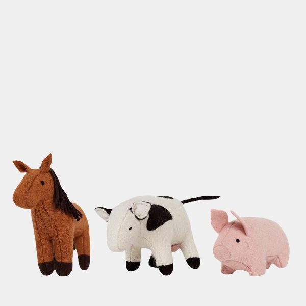 Olli Ella holdie barn animals