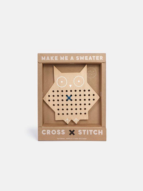 Moon Picnic Cross Stitch Friends - Owl