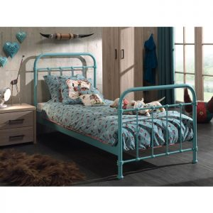 Vipack New York Metal Bed - Mint