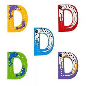 Lanka Kade Wooden Letters - D