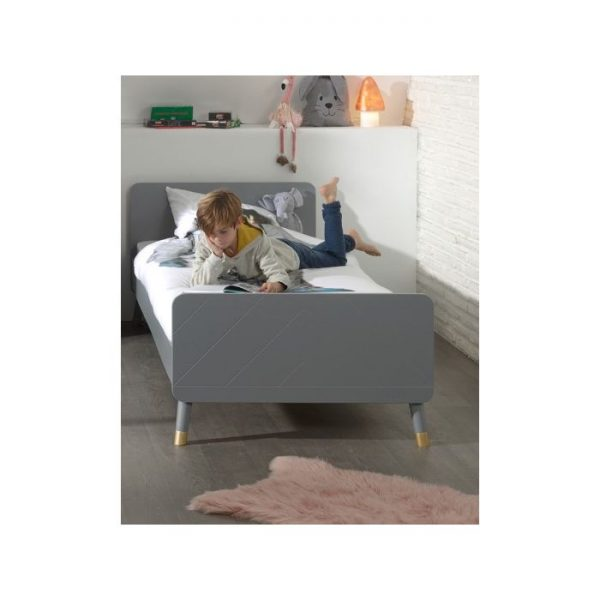 Vipack Billy Bed - Timeless Grey